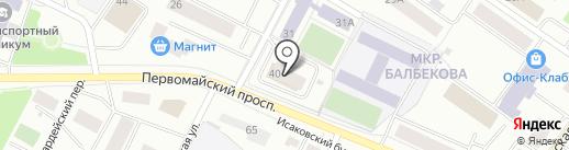 БЕНТ, АО на карте Первомайского