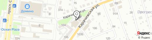 Компания по производству металлоконструкций и поручней на карте Брянска