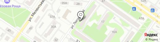 Протопопов на карте Петрозаводска
