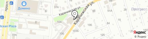 МаксиДом на карте Брянска