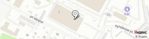 Управляющая компания №1 на карте Петрозаводска