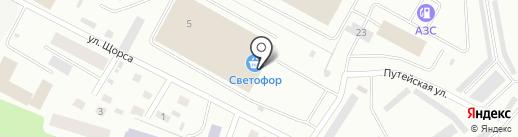 Строй Авто на карте Петрозаводска