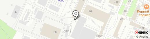 Камень 32 на карте Брянска