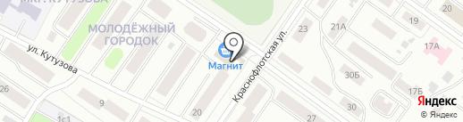 Мальта на карте Петрозаводска