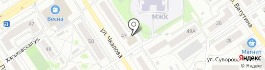 Молодежный Жилой Комплекс на карте Петрозаводска