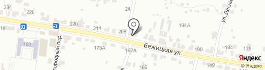 Универсал-Проект на карте Брянска