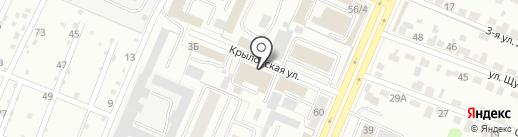 БН-Моторс Skoda на карте Брянска