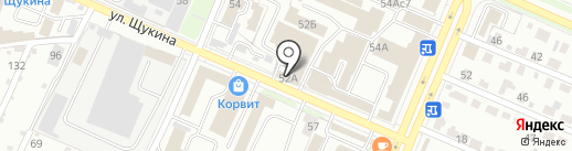 Сеть пунктов приема платежей на карте Брянска