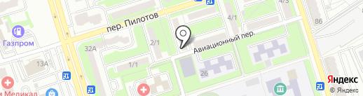 Уголовно-исполнительная инспекция на карте Брянска