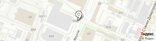 Дом люстр на карте Брянска
