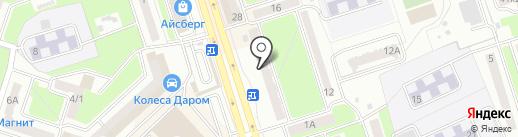 Акварельный заяц на карте Брянска