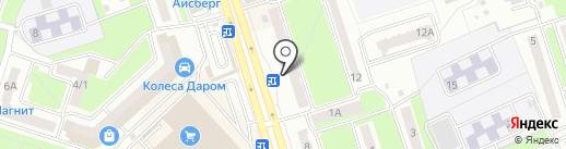 Стройка на карте Брянска