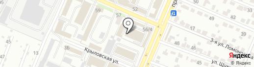 Fresh мебель на карте Брянска