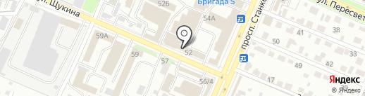 Магазин саморезов на карте Брянска