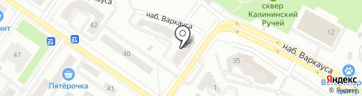 Варкауса 37, ТСН на карте Петрозаводска