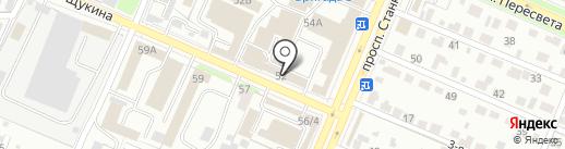 Электрокомпонент Брянск на карте Брянска