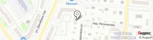 СФК на карте Петрозаводска