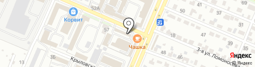 ТехноМир-Сервис на карте Брянска