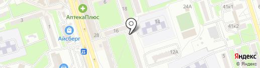АВТО-груз на карте Брянска