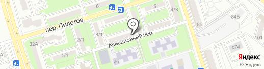 Брянск-СИ на карте Брянска