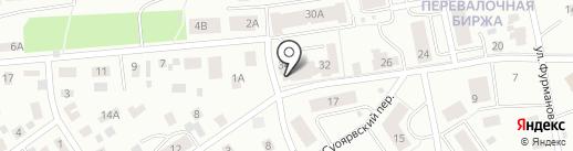 Flor2U.ru на карте Петрозаводска