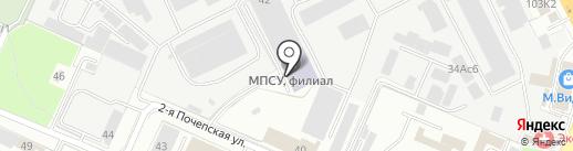 Брянский институт управления и бизнеса на карте Брянска