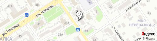 Магазин тканей и текстильных товаров на карте Петрозаводска