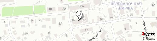Суоярвская 34, ТСЖ на карте Петрозаводска
