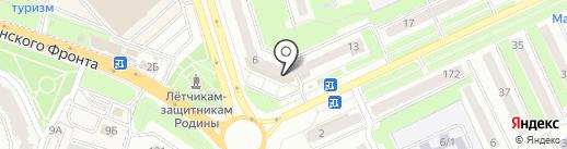 Компания электромонтажных работ на карте Брянска