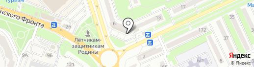 Почтовое отделение №1 на карте Брянска