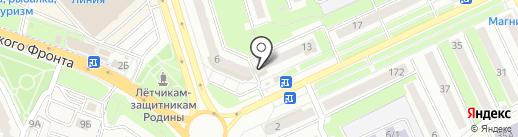 Суражанка на карте Брянска