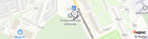 ТурГрад на карте Брянска