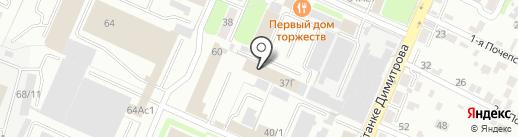 Канцлер на карте Брянска