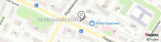 BISUMIRRA на карте Петрозаводска