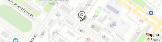 Сеть магазинов хлебобулочных изделий на карте Петрозаводска