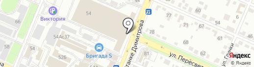 Горизонт на карте Брянска