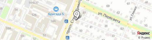 Бобры32 на карте Брянска