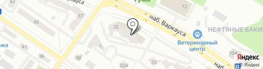 Солнечный город на карте Петрозаводска