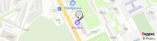 Томми на карте Брянска