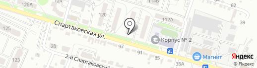 Мармелад на карте Брянска
