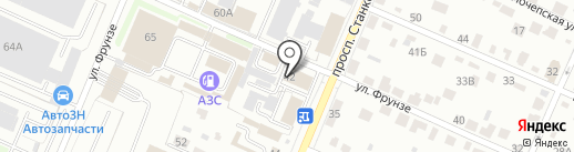 Дис-Протект на карте Брянска