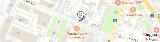 Сеть магазинов сантехники на карте Брянска