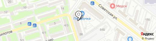 ОТ и ДО на карте Брянска