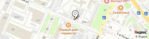 Morozoff на карте Брянска