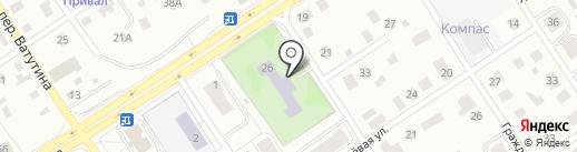 Дом творчества детей и юношества №2 на карте Петрозаводска