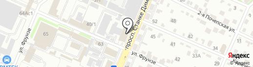 STELS.центр на карте Брянска
