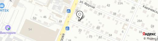 Эвакуатор на карте Брянска
