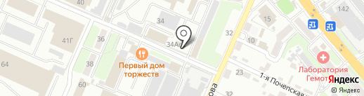 Строительные технологии и оборудование на карте Брянска