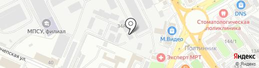 TEXACO на карте Брянска