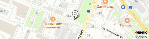 Моби-центр на карте Брянска